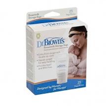 Пакеты для хранения грудного молока, 25 шт., Dr.Brown's