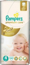 Подгузники Pampers Premium Care 4 (8-14 кг) 52 шт