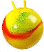 Мяч Stantoma желтый/фиолетовый 55 см