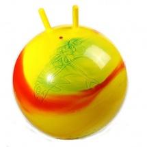 Мяч желтый/фиолетовый, 55 см, Stantoma
