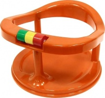 Сиденье для купания Полимербыт, оранжевое