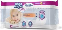 Влажные салфетки Helen Harper 72 шт