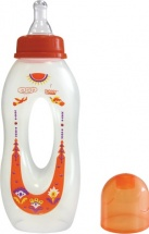 Бутылочка Lubby 240 мл, оранжевая