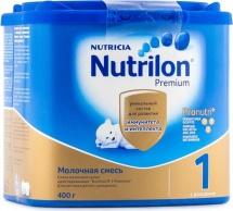 Сухая смесь Нутрилон №1 с 0 до 6 мес 400 г