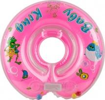 Круг на шею Baby Krug розовый 3-12 кг