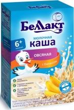 Каша Беллакт молочная овсяная с бананом с 6 мес 250 г