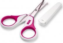 Ножницы Nuk, розовый