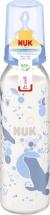Бутылочка Nuk Classic Морской котик стекло 230 мл