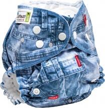 Многоразовый подгузник GlorYes Classic Plus (3-18 кг) джинс