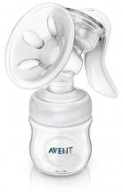 Avent Natural Молокоотсос ручной с бутылочкой