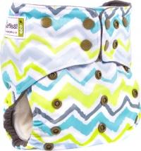Многоразовый подгузник GlorYes Premium (3-18 кг) волна
