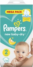 Подгузники Pampers New Baby 2 (4-8 кг) 144 шт