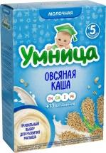 Каша Умница молочная овсяная с 5 мес 200 г