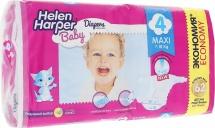 Подгузники Helen Harper Baby 4 (7-14 кг) 62 шт