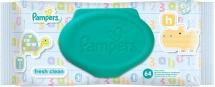 Влажные салфетки Pampers Baby Fresh Clean 64 шт