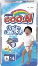 Трусики Goon для мальчиков L (9-14 кг) 44 шт