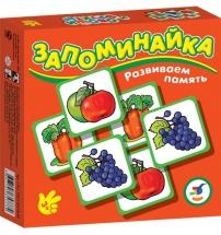 """Игра """"Запоминайка. Овощи и фрукты"""", Дрофа"""