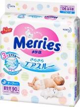 Подгузники Merries NB (до 5 кг) 90 шт