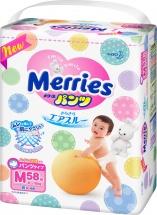 Трусики Merries M (6-10 кг) 58 шт