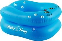 Горшок Baby Krug надувной, синий