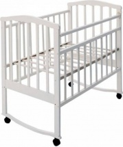 Обычная кроватка Агат 52104 Золушка-1 Белый