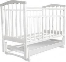 Обычная кроватка Агат 52104 Золушка-4 Белый