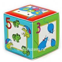 """Игрушка кубик с пищалкой """"Учимся считать"""""""