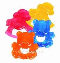 """Игрушка-прорезыватель с водой """"Любимые игрушки-Мишка"""" синий, Курносики"""