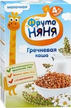 Каша молочная гречневая, с 4 мес., 200гр., ФрутоНяня