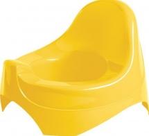 Горшок детский Бытпласт желтый