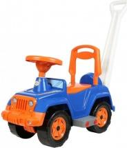 Машина-каталка Орион Супер Сафари с ручкой