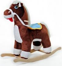 """Качалка Rudnix """"Лошадь"""" коричневый"""