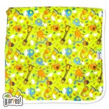 Пеленка GlorYes впитывающая 80х68 см, жирафы