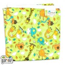 Пеленка GlorYes непромокаемая 80х68 см, жирафы