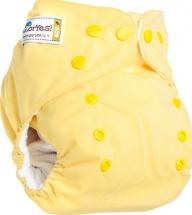 Многоразовый подгузник GlorYes Classic (3-15 кг) нежно-желтый
