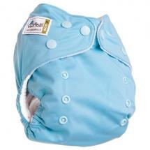 Многоразовый подгузник GlorYes Classic (3-15 кг) голубой