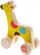 "Каталка ""Жираф"" дерев., Lucy&Leo"