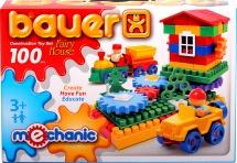 "Конструктор Bauer ""Mechanic Fairy house (Избушка)"" 100 эл"