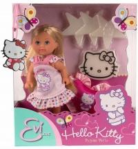 "Кукла ""Еви HelLo Kitty пижамная вечеринка"", Evi Love"