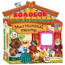 Магнитный театр Vladi Toys Колобок