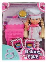 """Кукла """" Еви печет торт"""", Evi Love"""