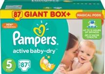 Подгузники Pampers Active Baby 5 (11-18 кг) 87 шт