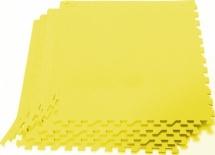 Мягкий пол универсальный Pol-par 60х60 см 4 дет, желтый