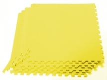 Мягкий пол универсальный, 4 дет., 60х60 см, желтый , Pol-par