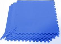 Мягкий пол универсальный Pol-par 60х60 см 4 дет, синий