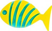"""Мини-коврик Valiant """"Рыбка"""", желтый"""
