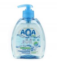 Гель для подмывания малыша с дозатором 300 мл, AQA Baby