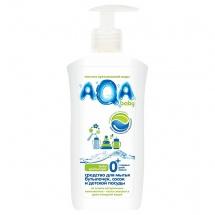 Средство AQA Baby для мытья бутылочек, сосок и посуды 500 мл