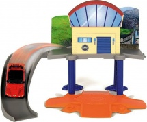Маленький морской гараж Simba Пожарный Сэм с машинкой