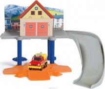 Маленький пожарный гараж Simba Пожарный Сэм с машинкой